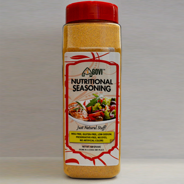 Healthy and Nutritional seasoning. Vegan and Paleo friendly.